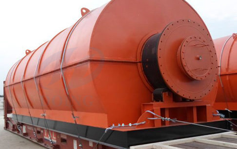 Tyre pyrolysis plant cost estimate