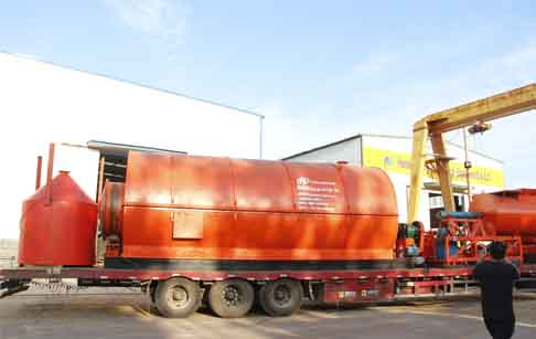 The 22th waste tyre recycling pyrolysis plant delivered to Mexico