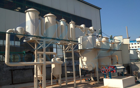 Waste plastic oil to diesel oil machine