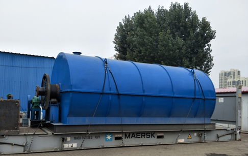 10ton capacity continuous tyre pyrolysis plant for Ukraine customer has successful delivery
