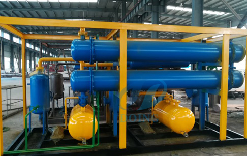 Continuous process tyre pyrolysis plant  will delivery to Tunisia