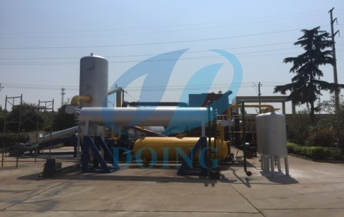 Difference between continuous pyrolysis plant and batch pyrolysis plant