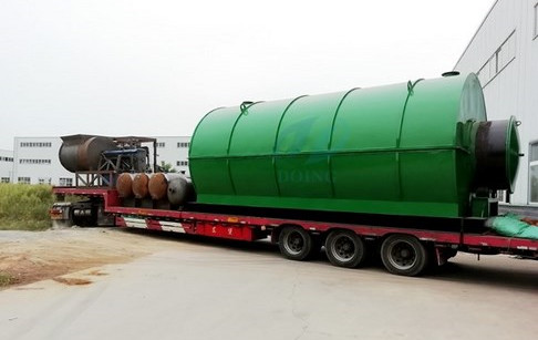 2 sets tyre to oil plants successfully delivered to Jiangsu, China