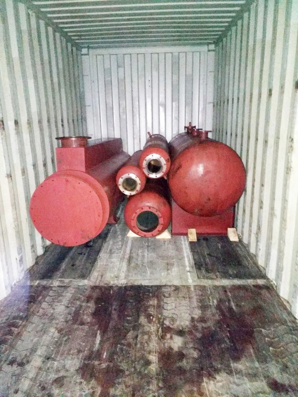 waste oil to diesel plant delivered to india