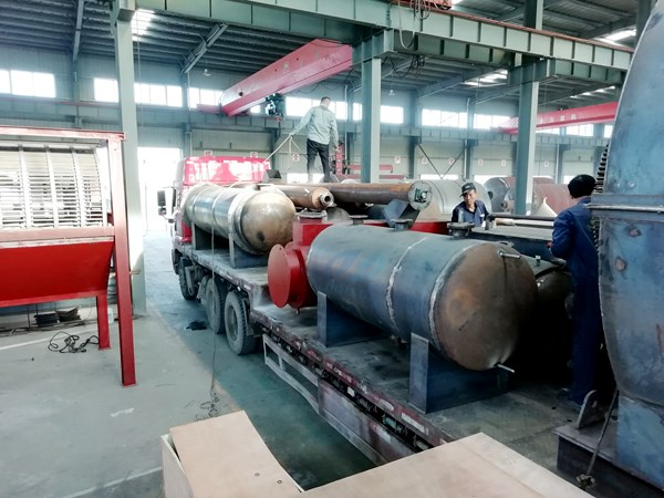 waste tyre pyrolysis plant delivered to hebei china