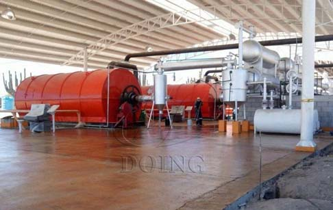 The waste plastic pyrolysis plant cost estimate