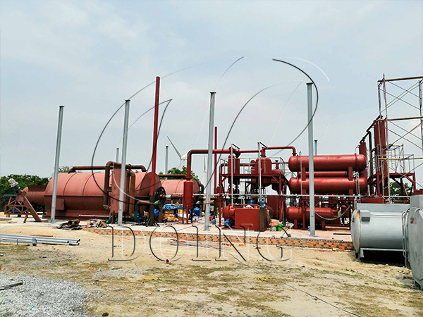 tyre pyrolysis project
