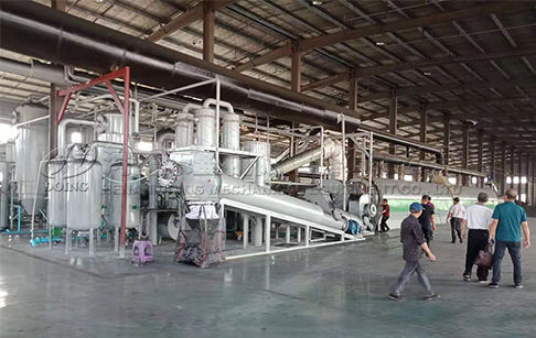 How to start continuous waste tyre pyrolysis plant in India?