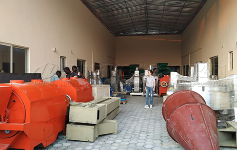 DOING's overseas warehouse in Nigeria waiting your visit