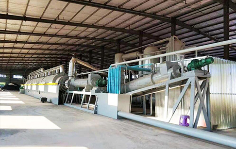 High capacity continuous waste