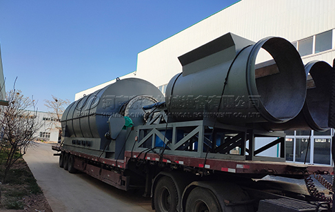 24TPD latest waste pyrolysis plant was delivered to Mexico