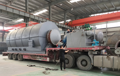 12T oil sludge treatment pyrolysis plant sent to Luoyang, China