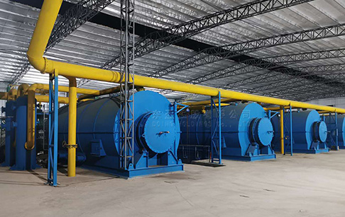 What are the safety measures for tyre pyrolysis plant?