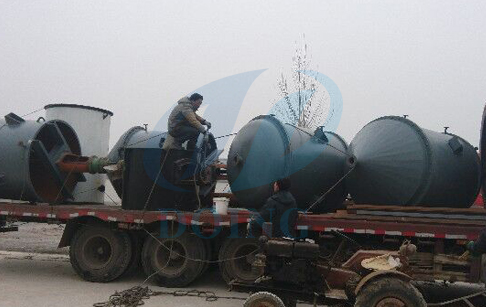 waste oil distialltion machine