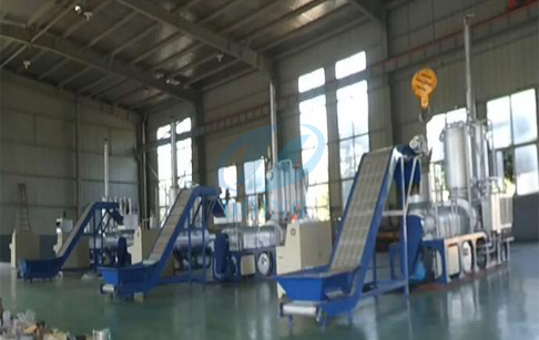 continuous pyrolysis and distillation integrated machine